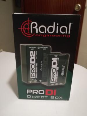 vendo caja de inyección radial pro D2