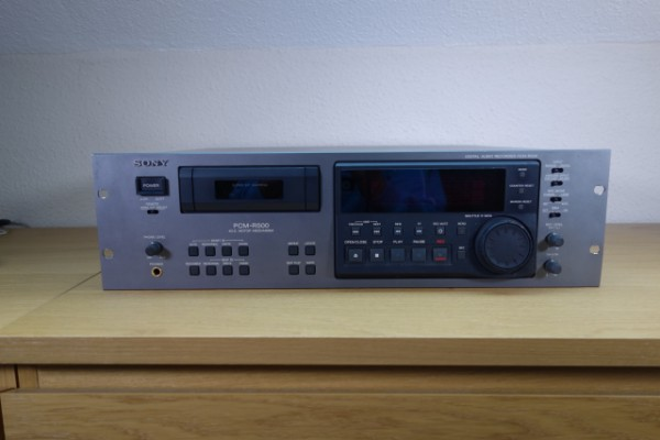 Sony PCM-R500 - Grabador/reproductor DAT