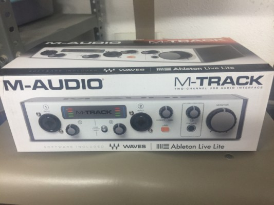 M-audio M-track ll
