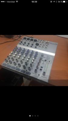 Mesa de audio alto l-8
