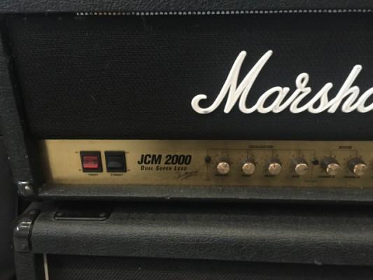 MARSHALL JCM2000 DSL (Ingles) + Pantalla 4x12