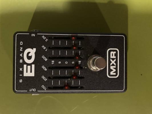 PEDAL MXR 6 EQ