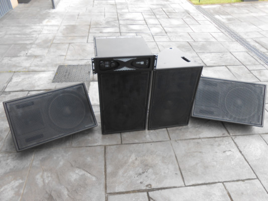 Equipo de sonido ASD y etapa Crown