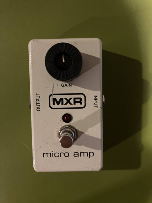 Pedal booster MXR Micro Amp