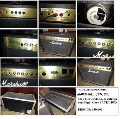 Amplificador Combo Marshall JCM 900 para guitarra