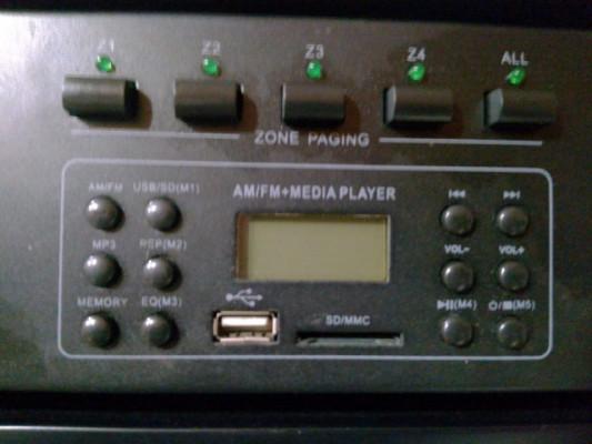 Amplificador de megafonía Acoustic Control AC-2120