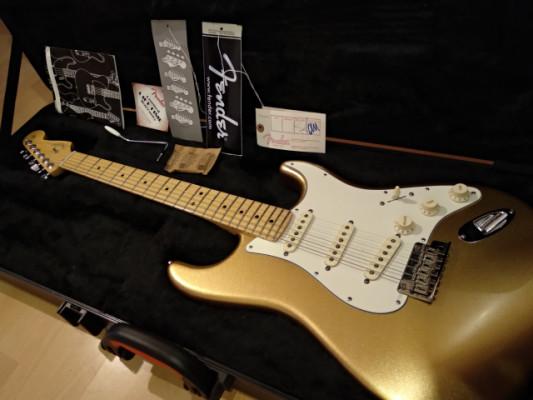Fender Stratocaster American Standard 60th Ann. Aztec Gold *MINT*