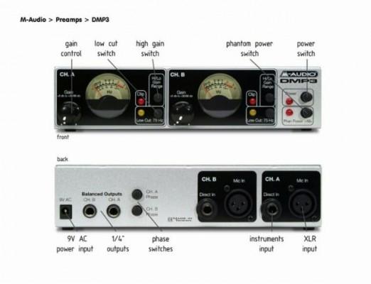 M-Audio DMP3 Previo
