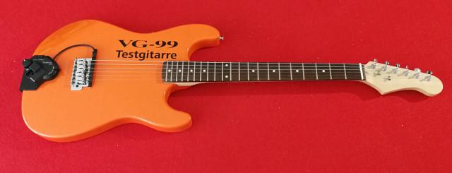 Roland VG99 Testgitarre
