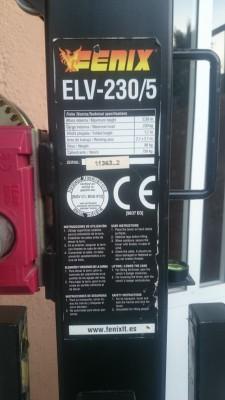 2 Torres Elevadoras Fenix ELV-230/5