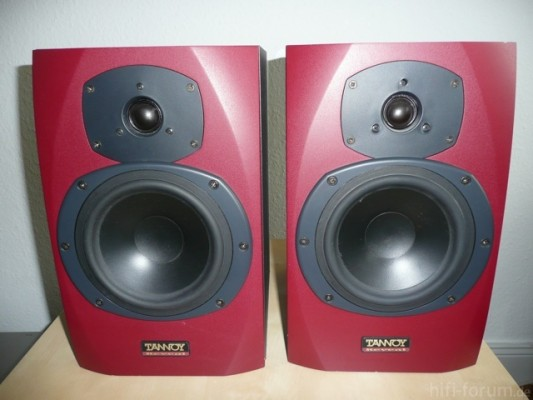 Tannoy Reveal Studio Monitor red