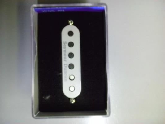 Vendo/cambio pastilla simple Seymour Duncan APS-1 blanca