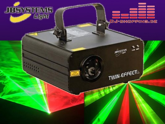 LASER JB SYSTEMS TWIN EFFECT