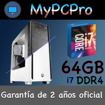 Mac Pro Server Hackintosh i7 64 GB RAM DDR4 500 GB SSD CustoMac