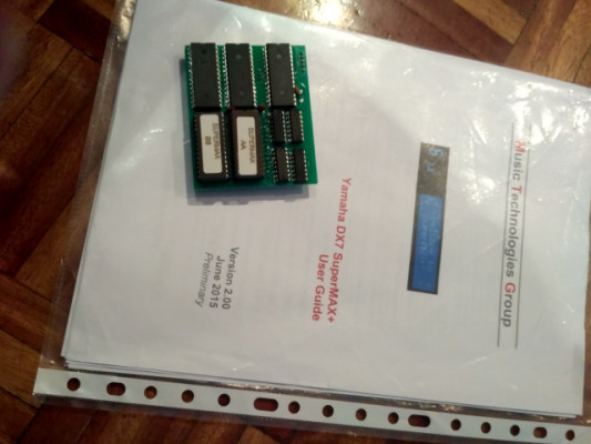 Tarjeta Supermax para DX7