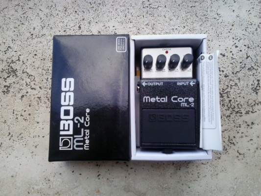 Pedal BOSS ML-2 Metal Core ¡¡¡Nuevo a estrenar!!!
