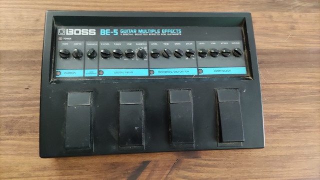 Boss BE-5 Multiefectos vintage