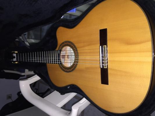 Guitarra flamenca Alhambra 7FS CT E2 de caja estrecha