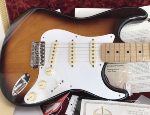 Fender Stratocaster avri 54 60th