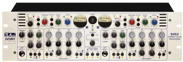 TL Audio 5052 Ivory II - Procesador Previo Stereo a Valvulas