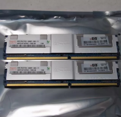 MEMORIA RAM SERVIDOR MAC PRO 16GB DDR2 PC2 5300F (8GB x2 )