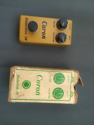 Coron Distortion 10 Mustard Yellow