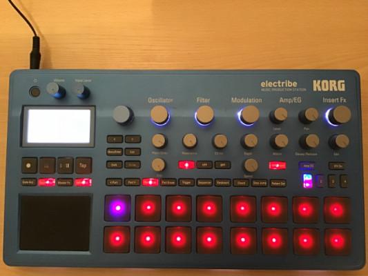 Korg Electribe 2 azul (regalo micro sd 16gb