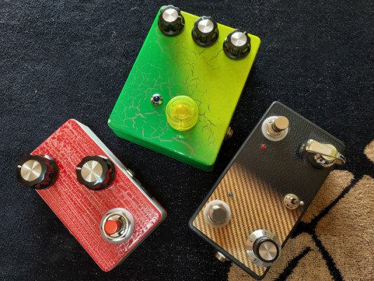 Pedales DIY - Overdrives + Delay