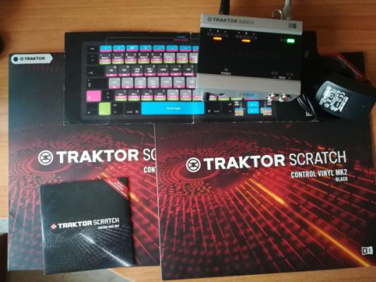 Traktor  Scratch A6 (licencia incluida)