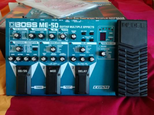 Pedalera BOSS ME-50