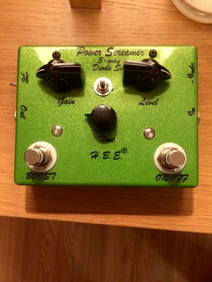 Homebrew Electronics (HBE) Power Screamer hecho a mano en USA