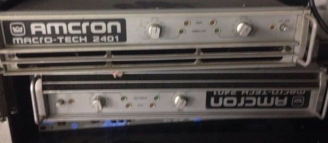 Etapas de potencia Amcron/ Crown