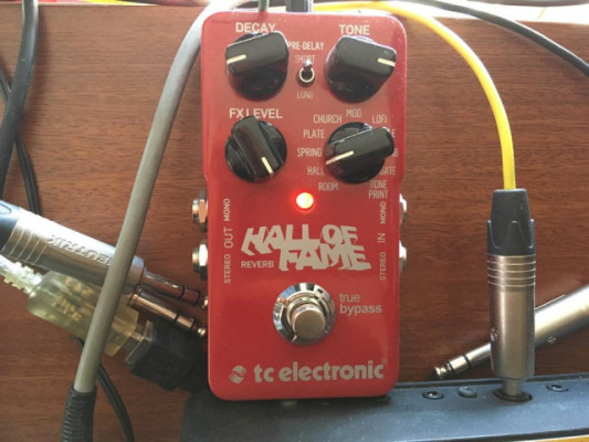Pedal Reverb Tc Hall Of Fame