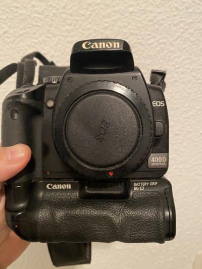 Camara Canon 400D EOS