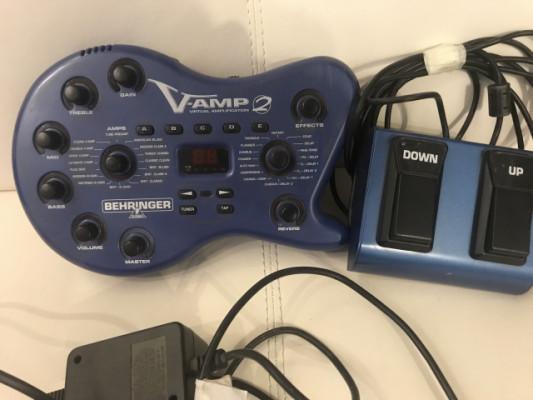 V-amp 2 Simulador amplificador