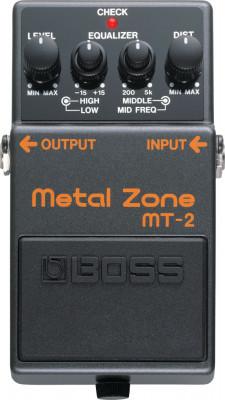 pedal guitarra boss metal zone2