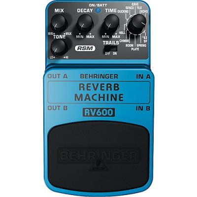 Beringher Rv600 Reverb Machine