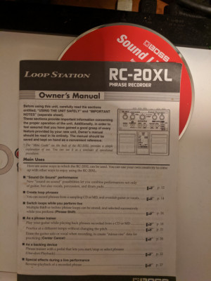 Boss loop station xl 20