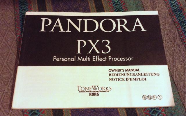 Manual de Pandora PX3