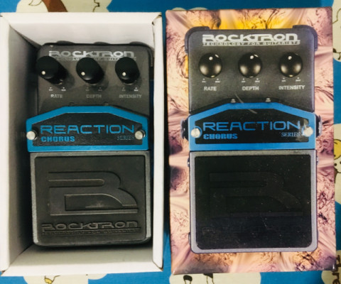 Pedal chorus Rocktron Reaction