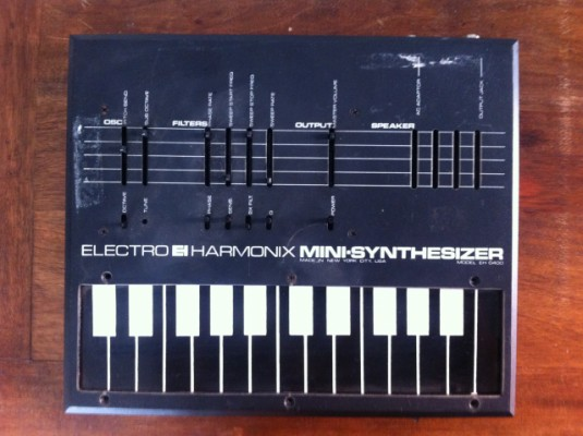 electro harmonix mini synthesizer eh-400 reparar