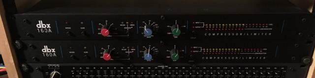 2 x DBX 160A VCA Compressor
