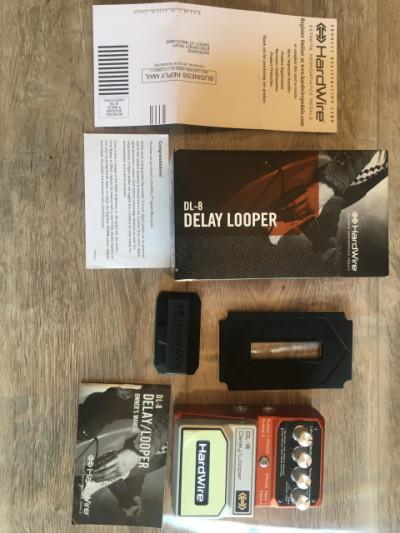 DL-8 Delay Looper Digitech HardWire