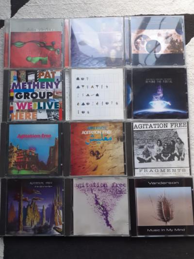 Lote de cds electronica y mas