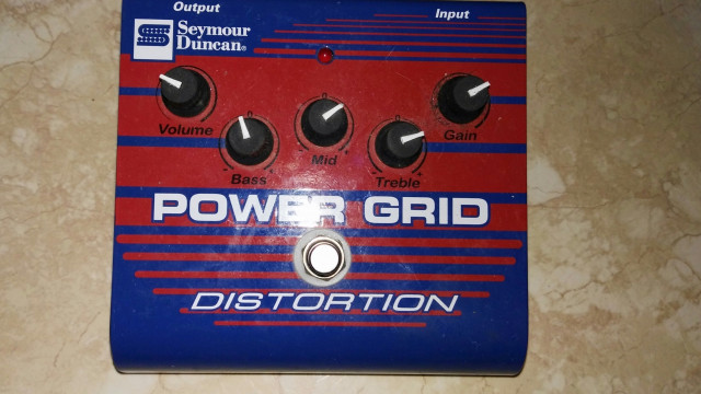 Seymour duncan power grid Distortion