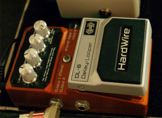 DIGITECH HARDWIRE DL 8 DELAY/LOOPER