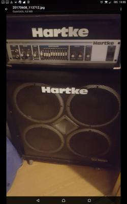 Combo Hartke valvulas  para bajo