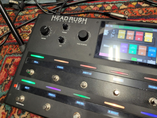 Headrush pedalboard (funda)