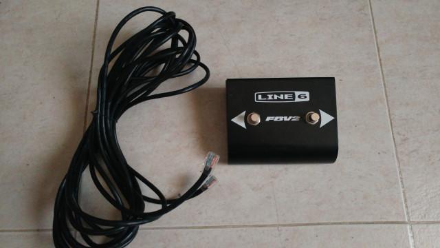 CAMBIO Line 6 FBV2 Pedal para cambio canal