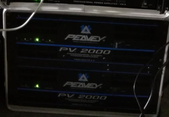 Equipo de sonido 4000W Peavey